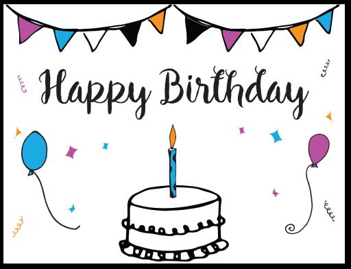 90 Free Printable Birthday Card Templates Pdf Maker with Birthday Card Templates Pdf