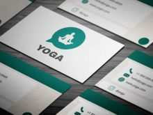 90 Free Printable Business Card Template Yoga Templates with Business Card Template Yoga