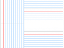 Lined Index Card Template Microsoft Word