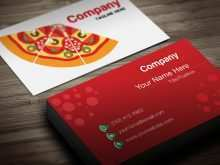 90 How To Create Business Card Template Restaurant Formating for Business Card Template Restaurant
