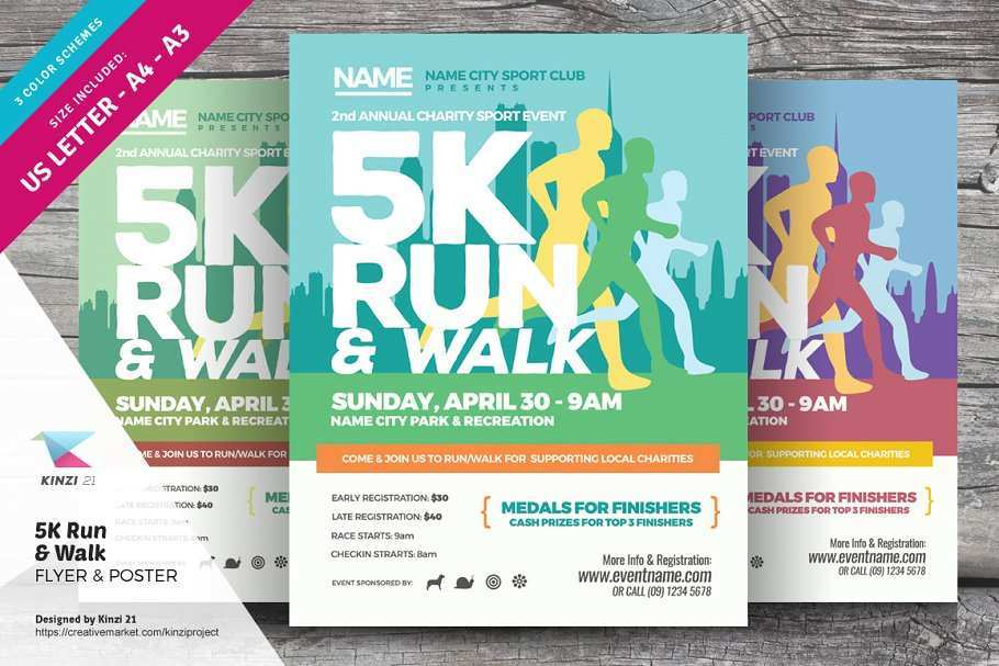 90 Online 5K Flyer Template Formating with 5K Flyer Template