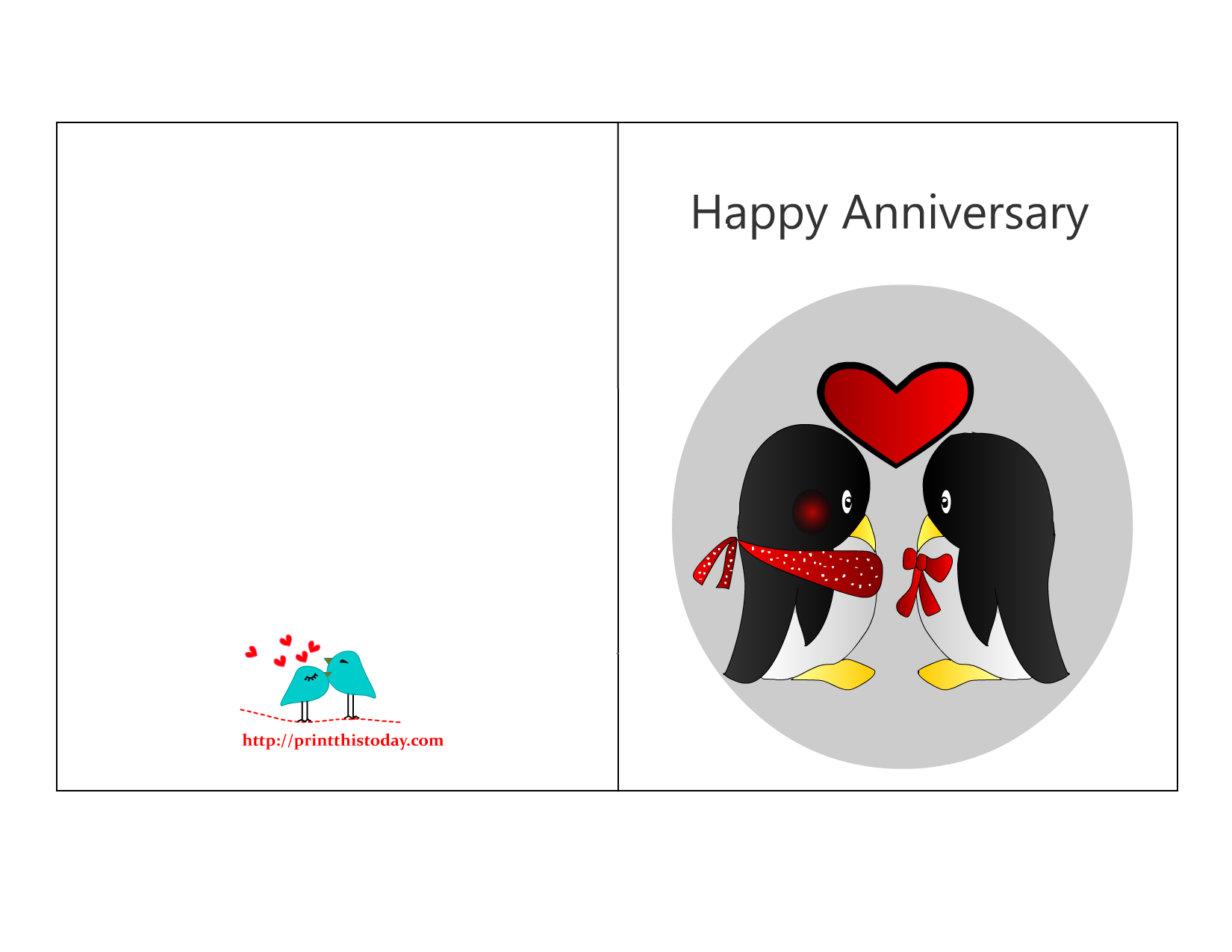 90 Online Free Printable Anniversary Card Template Formating with Free  Printable Anniversary Card Template - Cards Design Templates