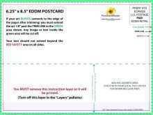 Vistaprint Postcard Template Illustrator
