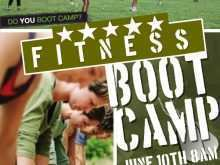 90 Printable Fitness Boot Camp Flyer Template by Fitness Boot Camp Flyer Template