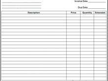 90 Report Blank Invoice Receipt Template in Word by Blank Invoice Receipt Template