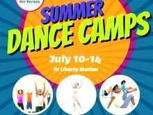 Dance Flyer Template Word