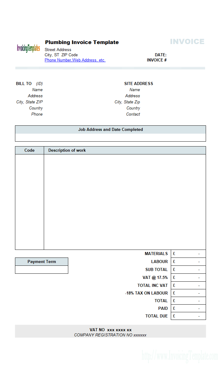 90 Standard Construction Invoice Template With Gst Templates with Construction Invoice Template With Gst