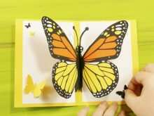 90 Standard Pop Up Card Butterfly Tutorial Templates by Pop Up Card Butterfly Tutorial