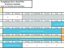 Production Schedule Template Xls