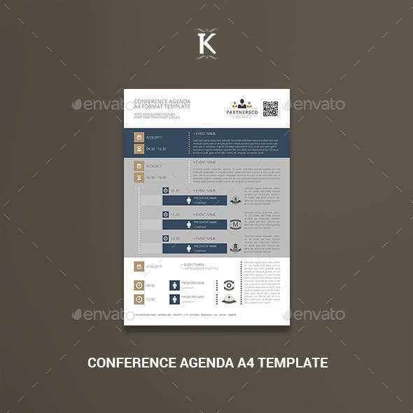 90 The Best Conference Agenda Template Indesign Templates for Conference Agenda Template Indesign