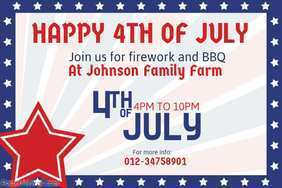 91 Adding 4Th Of July Party Flyer Templates Formating for 4Th Of July Party Flyer Templates