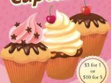 91 Best Cupcake Flyer Template in Word with Cupcake Flyer Template