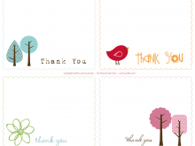 Thank You Popup Card Template Free Download