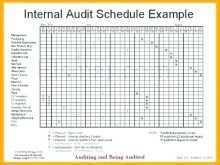 91 Blank Audit Plan Schedule Template PSD File for Audit Plan Schedule Template