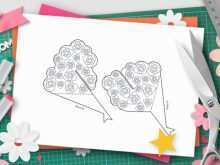 91 Blank Pop Up Card Bouquet Template Layouts with Pop Up Card Bouquet Template