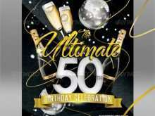 91 Create 50Th Birthday Card Invitation Templates in Word with 50Th Birthday Card Invitation Templates
