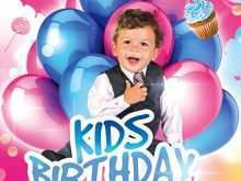 91 Create Birthday Party Flyer Templates Free With Stunning Design for Birthday Party Flyer Templates Free