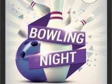 91 Create Bowling Event Flyer Template With Stunning Design for Bowling Event Flyer Template