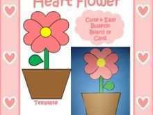 91 Create Flower Valentine Card Templates Layouts by Flower Valentine Card Templates