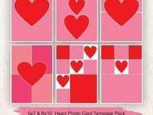 Heart Card Templates Login