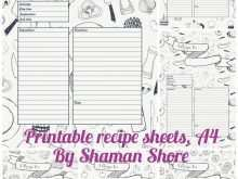 91 Creative 8 X 11 Recipe Card Template For Free with 8 X 11 Recipe Card Template