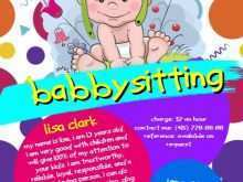91 Creative Babysitting Flyers Template in Word for Babysitting Flyers Template