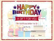 91 Creative Birthday Gift Card Template Word for Ms Word with Birthday Gift Card Template Word