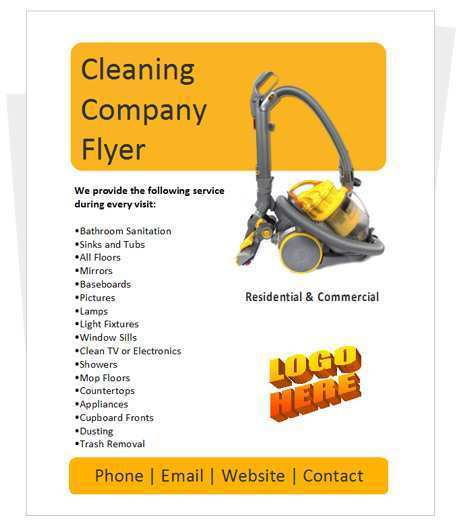 91 Customize Commercial Cleaning Flyer Templates With Stunning Design with Commercial Cleaning Flyer Templates