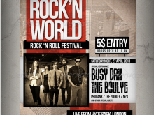 Free Concert Flyer Templates