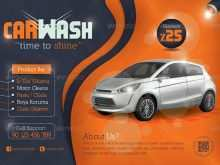 91 Customize Our Free Car Wash Flyers Templates PSD File with Car Wash Flyers Templates