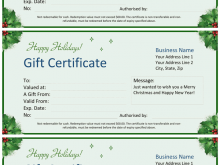 91 Customize Our Free Christmas Gift Card Template Microsoft Word in Photoshop with Christmas Gift Card Template Microsoft Word