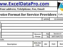 Tax Invoice Format Gst In Excel