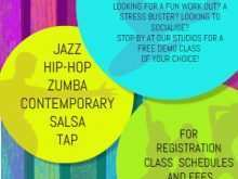 91 Format Dance Class Schedule Template Formating by Dance Class Schedule Template