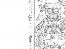 91 Free Christmas Card Template Colour In Templates with Christmas Card Template Colour In
