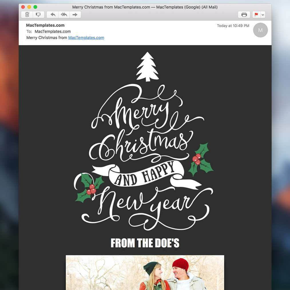 91 Free Christmas Card Template Mac in Photoshop with Christmas Card Template Mac