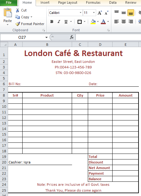 91 Free Hotel Food Invoice Template In Word With Hotel Food Invoice Template Cards Design Templates