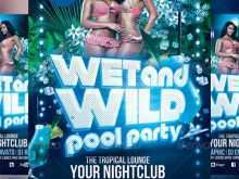 Pool Party Flyer Template Free