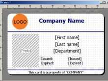 91 Free Printable Id Card Template Design Software in Word by Id Card Template Design Software