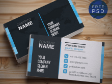 3D Name Card Template