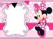 91 Online Birthday Card Template Minnie Mouse Layouts by Birthday Card Template Minnie Mouse