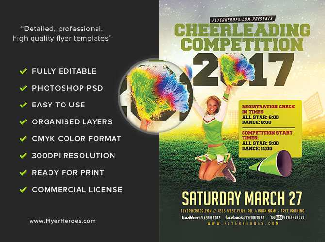 91 Online Competition Flyer Template With Stunning Design by Competition Flyer Template