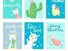 91 Printable Christmas Card Templates Vector Layouts with Christmas Card Templates Vector
