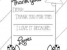 91 Report Colour In Thank You Card Template Download with Colour In Thank You Card Template