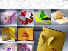 91 Report Kirigami Pop Up Card Templates Free for Ms Word by Kirigami Pop Up Card Templates Free