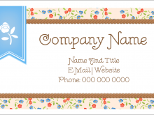 91 Standard Avery Business Card Template 08371 Maker by Avery Business Card Template 08371