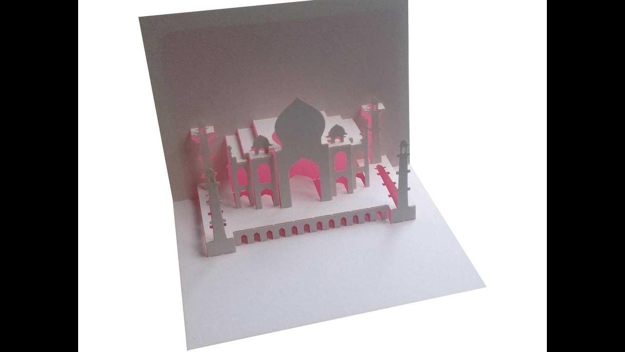 91 Standard Pop Up Card Mosque Template Templates with Pop Up Card Mosque Template