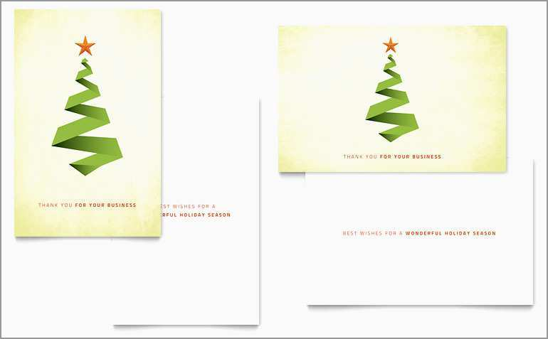 91 The Best Christmas Card Template Publisher Photo for Christmas Card Template Publisher