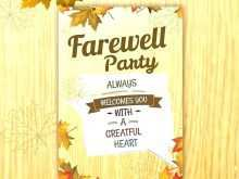 91 The Best Farewell Invitation Card Template Free Download Templates with Farewell Invitation Card Template Free Download