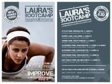 91 The Best Fitness Boot Camp Flyer Template Layouts by Fitness Boot Camp Flyer Template