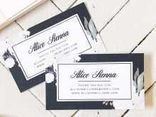 91 The Best Floral Business Card Template Word for Ms Word with Floral Business Card Template Word
